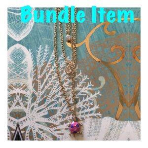 3 Layered Lady Bug Necklace